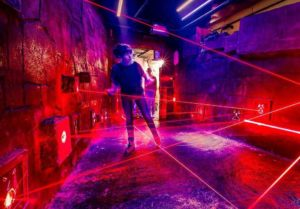 Laser Labyrinth im LEGOLAND® Discovery Centre Oberhausen