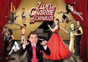 Varieté et cetera - Programmhighlight | Zwei mit Charme und Schnauze - Showmotiv