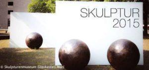 """Skulpturenmuseum Glaskasten Marl - Ausstellungsprojekt """"Skulptur 2015"""" mi über 80 Skulpturen"""