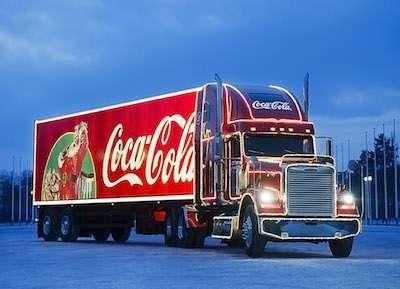Coca-Cola Weihnachtstruck-Tour ©The Coca-Cola Company