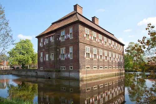 Schloss Oberwerries Wassergraben © Stadt Hamm, Thorsten Hübner