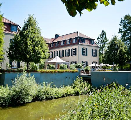 Wassergraben Schloss Berge © Schloss Berge