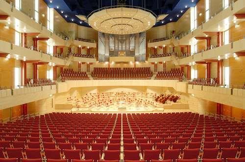 Der Alfried Krupp Saal in der Philharmonie Essen bietet Platz für 1906 Besucher © PE / Frank Vinken