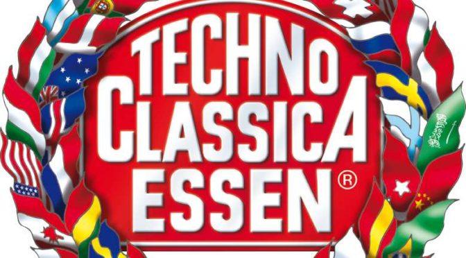Techno Classica Essen - Die Klassikmesse für Oldtimer, Motorräder und Prestige-Automobile in der Messe Essen