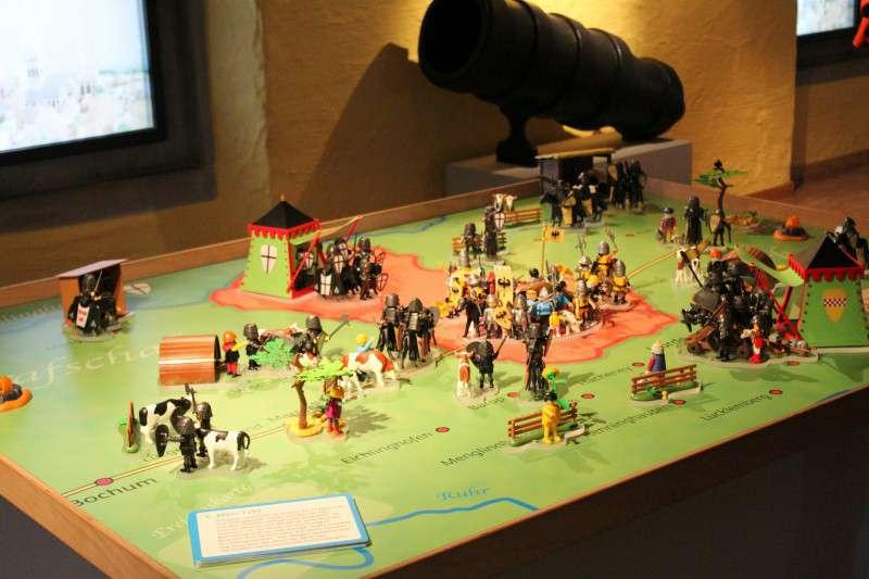 Der Playmobil-Spielplan zur Großen Fehde. Bild: Jochen Musebrink