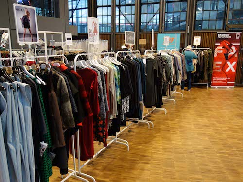 Fashion Exchange Pop Up Store auf der Kreativmesse Deine eigenART Foto:gip marketing und events