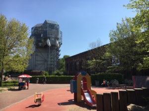 Der Glaselefant im Maximilianpark Hamm gilt als Wahrzeichen der Ruhrgebietsstadt