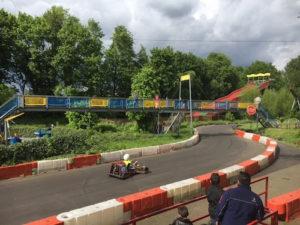 Die Kartbahn im Gysenbergpark Herne sorgt für ein rasantes Freizeitvergnügen