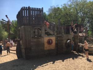 Zahlreiche Spielplätze im Maximilianpark in Hamm laden zum klettern, toben und herumtollen ein