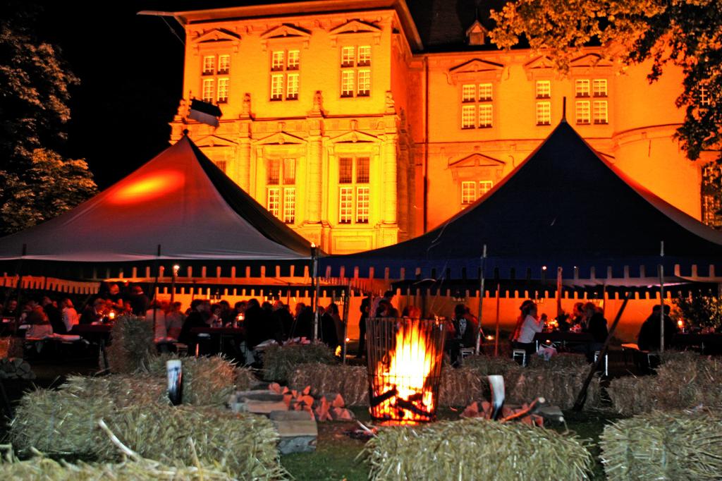 Ritterfest-Abendkulisse