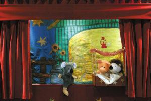 Februar Programm der Märchenbühne Dortmund - Viel Spaß mit Dicki Tam und seinen Freunden © Die Märchenbühne