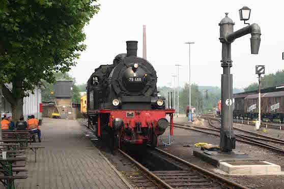 Das Eisenbahnmuseum in Bochum