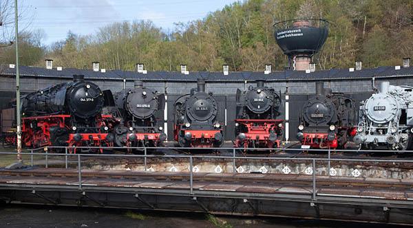 Das Eisenbahnmuseum Bochum bietet als Ausflugsziel NRW viele überwältigende Eindrücke und ermöglicht Eisenbahngeschichte zum anfassen Foto: Eisenbahnmuseum Bochum