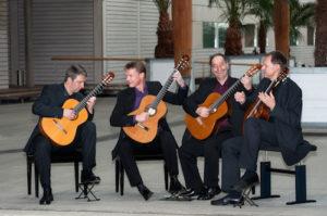 Das GuitArtist Quartett tritt im November im Kulturzentrum Hof Jünger in Bottrop-Kirchhellen auf© Michael Dobala