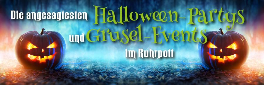 Halloweenpartys und Halloweenveranstaltungen in NRW