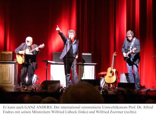 Trio Rockato - im November im Theatercafé Theater Hagen