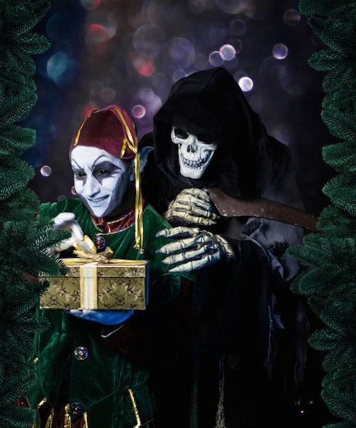 Creepy Christmas im Grusellabyrinth NRW Foto: Grusellabyrinth NRW