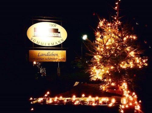 Auf dem Weihnachtsmarkt Frömern die besinnliche Adventszeit genießen