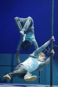 Urbanatix Show - Chinese Pole Akt Mario mit Remi