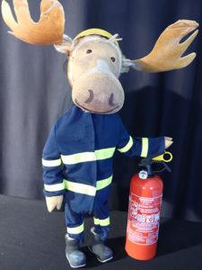 """Auch das Mülheimer Figurentheater Wodo Puppenspiel ist 2018 mit einer Aufführung von """"Finn, der Feuerwehrelch"""" in der Stadthalle Unna zu Gast Foto: Wodo Puppenspiel"""