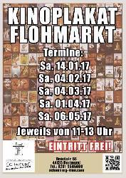 Kinoplakat-Flohmarkt in der Schauburg Dortmund