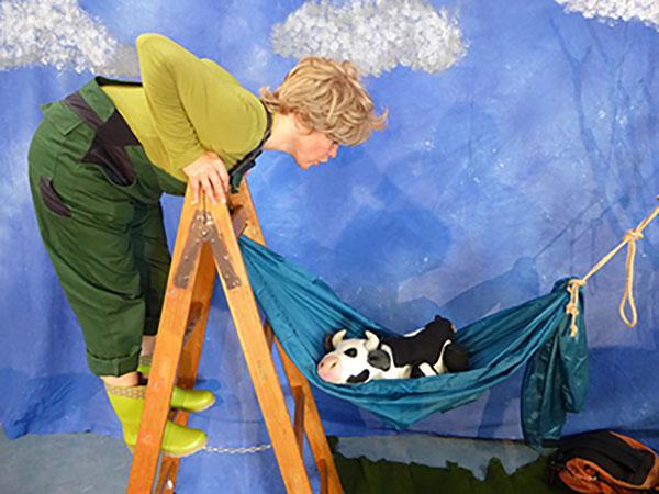Lieselotte macht Urlaub - eine wunderschöne Geschichte über Fern- und Heimweh Foto: Artisjok-Theater