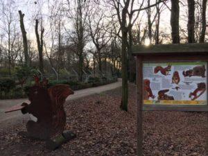 Kaisergarten Oberhausen mit Tiergehege