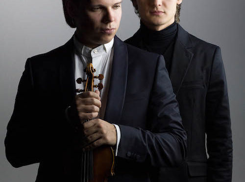 Best of NRW - Der Violinist, Sergey Dogadin, und der Pianist, Gleb Koreleff, zeigen am Freitag, dem 03.März, warum sie in die prestigeträchtige Konzertreihe Best of NRW aufgenommen wurden Foto: Dogadin/Koroleff