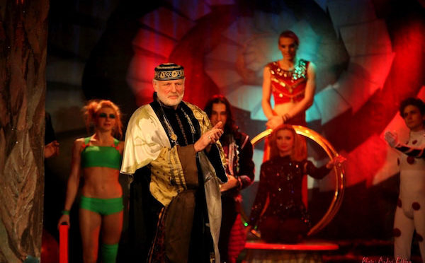 Das Traumtheater Salome begeistert mit einer mitreißenden Show inklusive Bauchtanz und Orientalischem Tanz Photo by André Elbing