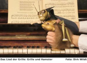 Das Lied der Grille: Grille und Hamster - Figurentheater im Kulturbahnhof Hamm