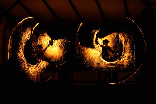 Feuerspektakel auf dem Mittelaltermarkt im Freizeitpark Fredenbaum in Dortmunnd © Mittelalterlich Phantasie Spectaculum®