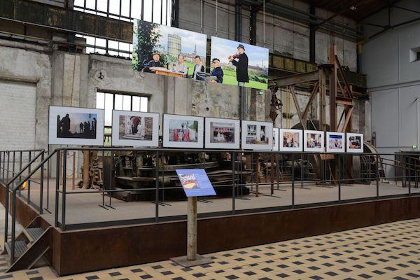 """Blick in die Ausstellung """"Ende der Schonzeit"""" im Gebläsehaus der Henrichshütte Hattingen. Foto: LWL / Hudemann"""