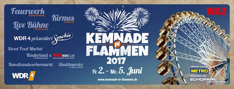 Kemnade in Flammen 2017 © Lago GmbH