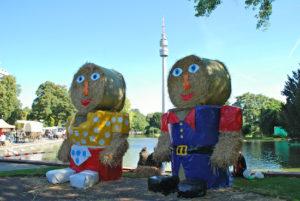 Wer Dekoratives für Haus und Garten sucht, sollte den Herbstmarkt im Dortmunder Westfalenmarkt auf keinen Fall verpassen. Bildnachweis: Anja Kador, Dortmund-Agentur