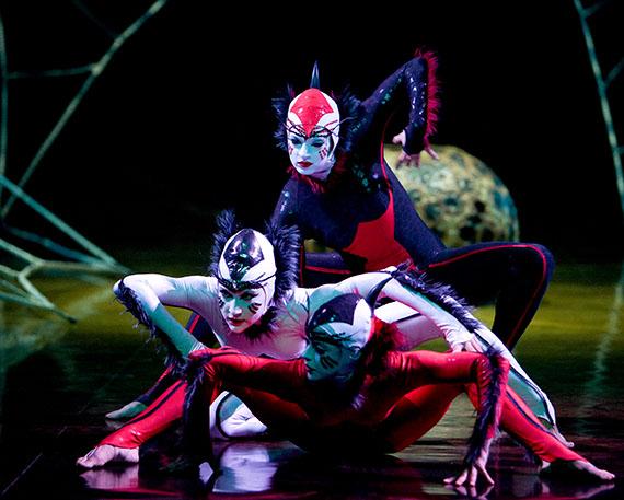 Spannende Akrobatik und Kunst in einer ganz neuen Form - Foto © 2009 Cirque du Soleil