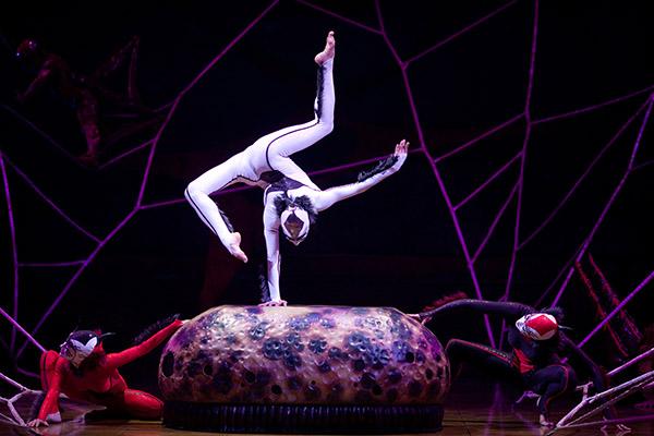Der Cirque du Soleil ist bekannt für die artistischen und akrobatischen Höchstleistungen seiner Darsteller Foto © 2009 Cirque du Soleil