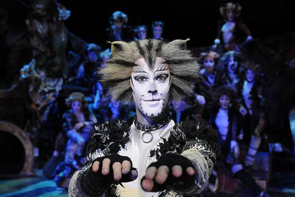 Einzigartige Kostüme und eine fantastische Katzenstory, die man so noch nicht gesehen hat. Das Musical Cats in NRW lädt zum staunen ein. Foto © Alessandro Pinna