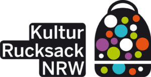 Kulturrucksack biete viele Aktivitäten für Kinder und Jugendliche in NRW - Logo Foto: www.kulturrucksack.nrw.de
