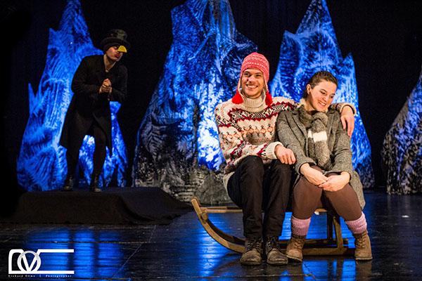 """Das Familienmusical """" Die Schneekönigin - Das Musical"""" wurde in Anlehnung an das berühmte Märchen von Hans Christian Andersen produziert und tourt aktuell durch ganz Deutschland Foto © Richard Ohme"""