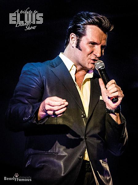 Steven Pitman begeistert als preisgekrönter Elvis Presley- Imitator immer wieder aufs Neue. Foto: Bearly Famous Photography/Steven Pitman/Schloss Borbeck Essen