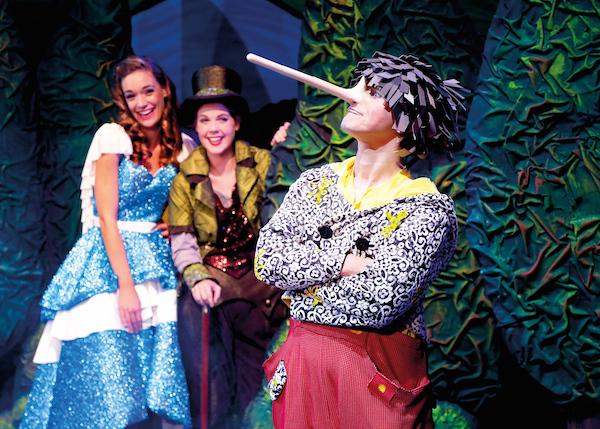 Pinocchio - Das Musical - Die neueste Creation des Theater Libero ist nun auf den Bühnen des Ruhrgebiets in NRW zu bewundern Foto: Theater Liberi