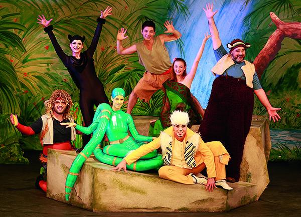 Mit dem Familienmusical Dschungelbuch - das- Musical bringt das Theater Liberi erneut einen Klassiker der Literatur- und Filmgeschichte auf die Bühne. Foto: Daniela Landwehr Theater Liberi