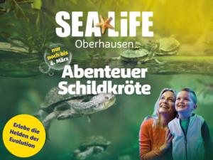 Abenteuer Schildkröte SEA LIFE Oberhausen